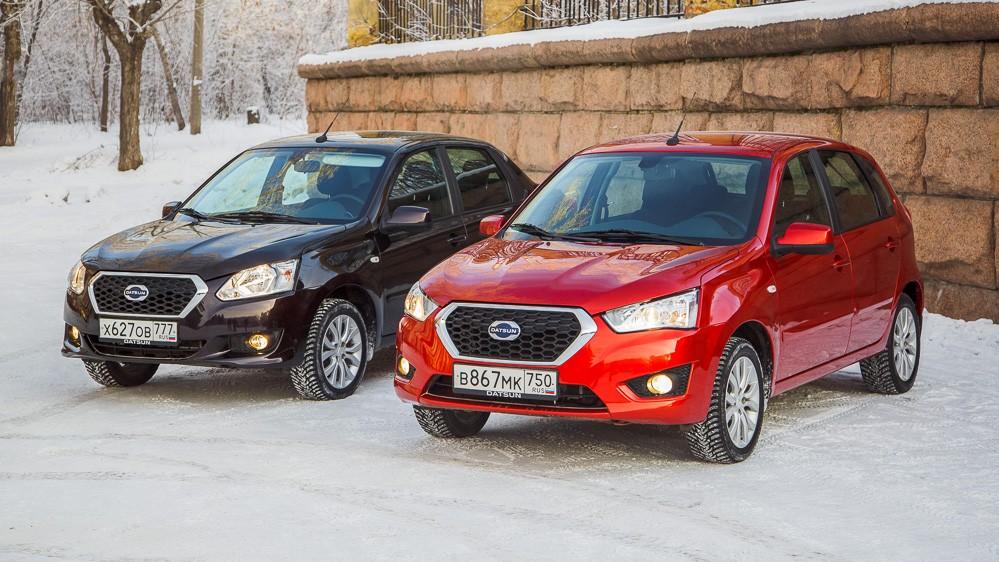 востребованные автомобили в россии Datsun