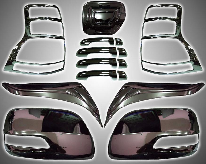 Виды накладок для тюнинга автомобиля