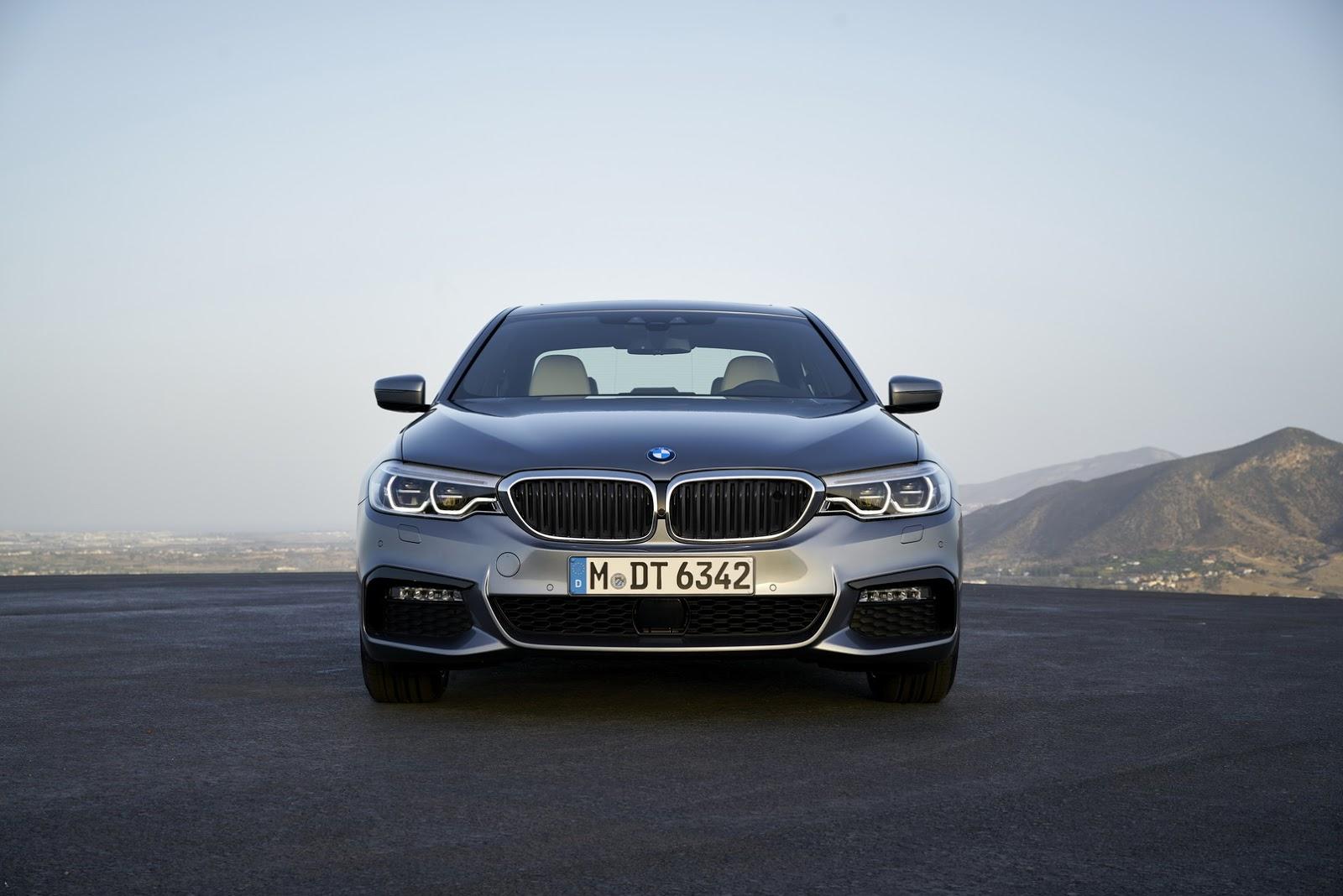 Новый BMW 5