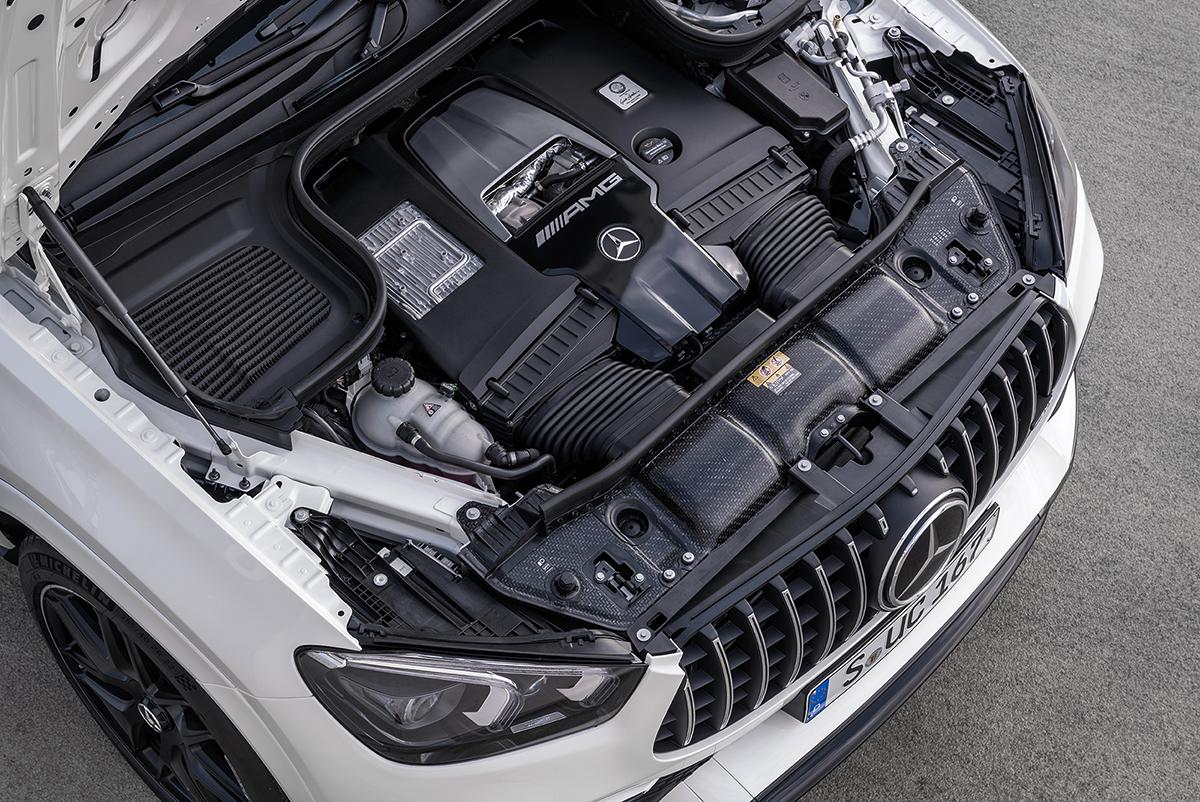 Mercedes GLE мотор